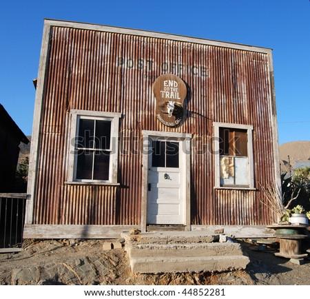 Historic post office - stock photo