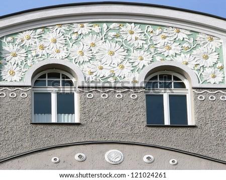 Stucco facades bavaria stock photos images pictures for Stucco facade