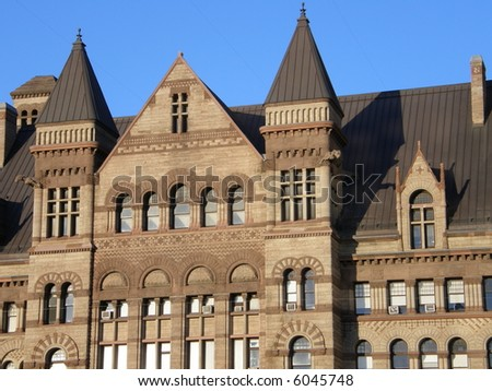 Historic Toronto City Hall in Canada - stock photo