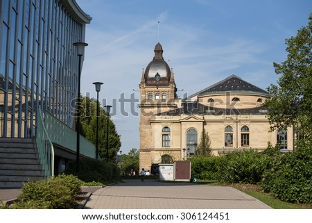 historic townhall wuppertal germany