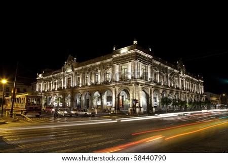 Historical building in Guadalajara, Jalisco, Mexico - stock photo