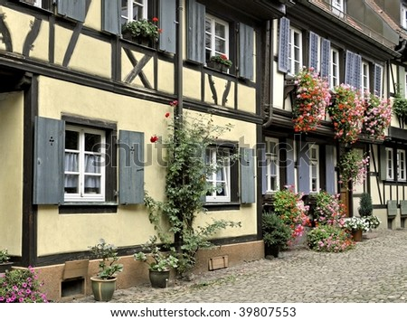 historical district of Gengenbach, Germany