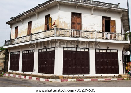 Historical home. - stock photo