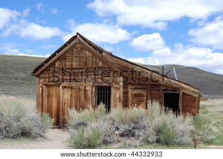 Historical Jail - Bodie, California - stock photo