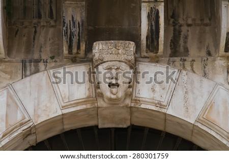 Historical palace. Andria. Puglia. Italy.  - stock photo