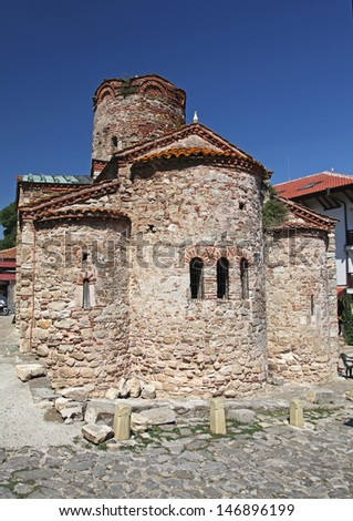 Historical town NESSEBAR in Bulgaria