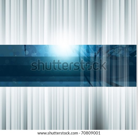 Hitech Abstract Business Background with Abstract Glowing motive - stock photo