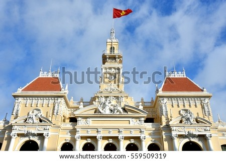 Ho Chi Minh City Hall, 2016 VietNam