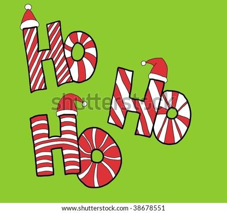 ho ho ho - stock photo