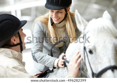 Hobby of horseback riding