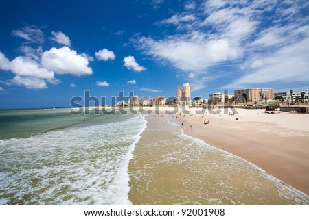 Hobie Beach, Port Elizabeth, South Africa - stock photo