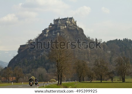Hochosterwitz Castle is one of the most imposing medieval castles in Austria