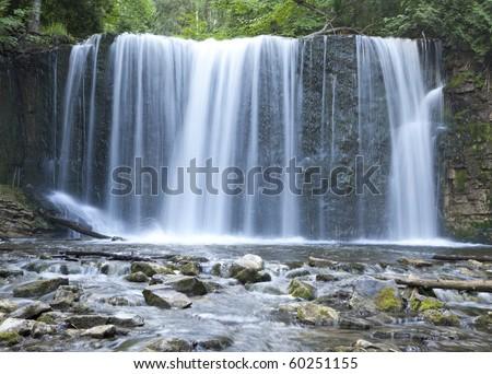 Hoggs Falls,Ontario,Canada - stock photo