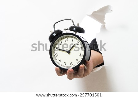 Holding a broken clock in the White Paper