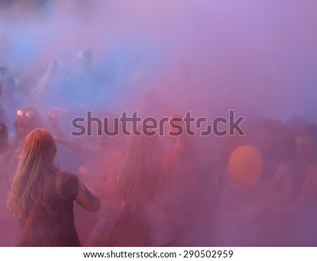 Holi festival  - stock photo