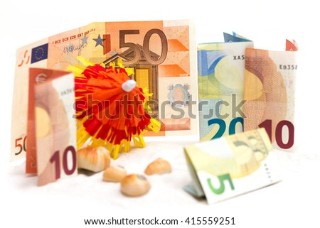 holiday allowance - stock photo
