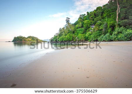Holiday at the beach, Langkawi Malaysia