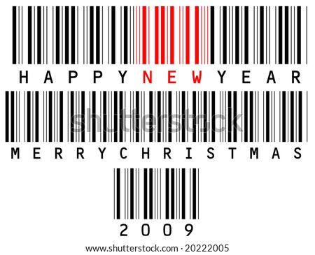Holiday barcode set