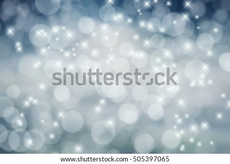 Holiday bokeh and sparkles background