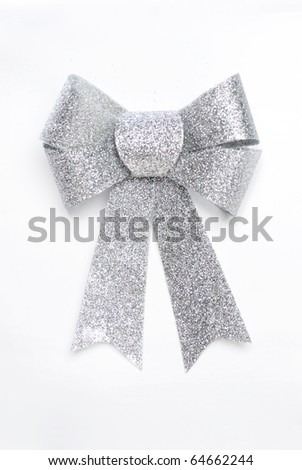 holiday bow - stock photo