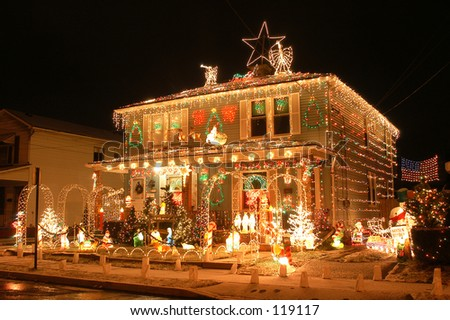Holiday decorations - stock photo