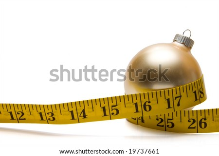 Holiday Dieting - stock photo