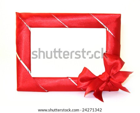 Holiday frame - stock photo