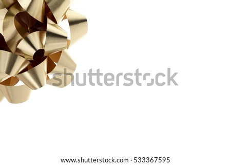 Holiday gift bows festive background