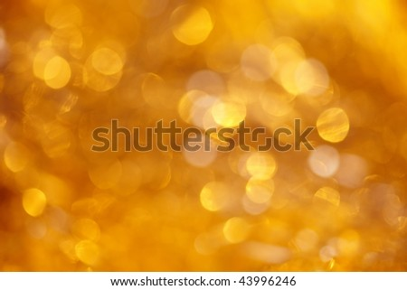 Holiday gold background