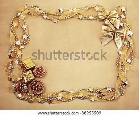 Holiday Greeting Card - stock photo