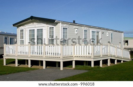 Holiday home with disabled access - stock photo