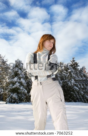 holiday in a forest - stock photo