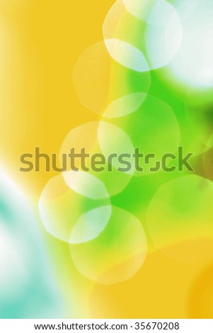 Holiday Lights Blur - stock photo