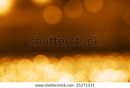 holiday lights out of focus - stock photo