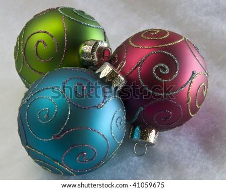Holiday Ornaments - stock photo