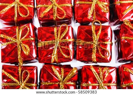 holiday presents - stock photo