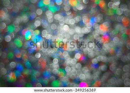 Holiday season light off focus background - stock photo