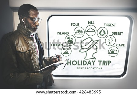 Holiday Trip Adventure Travel Journey Experience Concept - stock photo