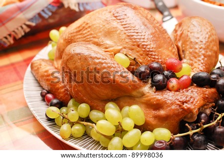Holiday Turkey - stock photo