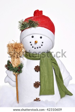 holiday winter snowman