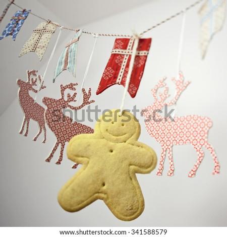 holidays decoration - stock photo