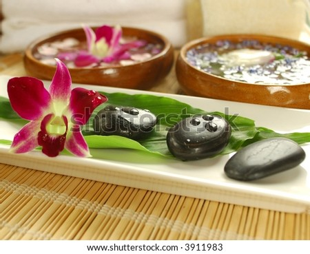 Holistic therapy - stock photo