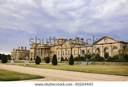 Holkham Hall, Norfolk - stock photo