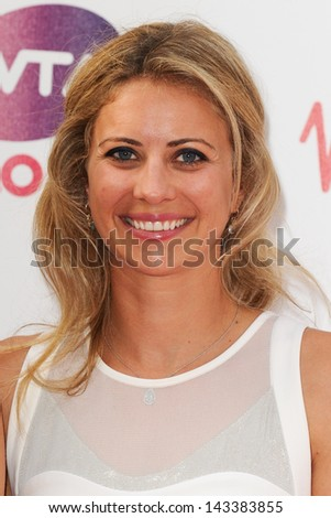 Holly Branson arriving for the WTA Pre-Wimbledon Party 2013 at the Kensington Roof Gardens, London. 20/06/2013 - stock photo