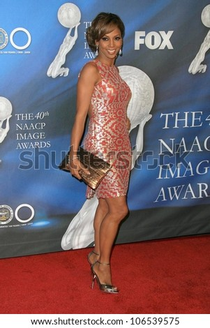Holly Robinson Peete  at the 40th NAACP Image Awards. Shrine Auditorium, Los Angeles, CA. 02-12-09