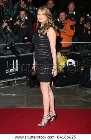 Holly Valance arriving for the 2011 GQ Awards, Royal Opera House, London. 06/09/2011  Picture by: Alexandra Glen / Featureflash