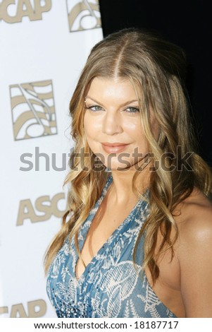 HOLLYWOOD - 9 APRIL: Stacy  Ferguson, Fergie at the ASCAP Awards held at the Kodak Theater in Hollywood - 09 April 2008