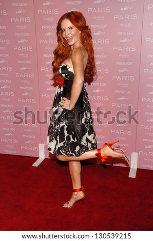 "HOLLYWOOD - AUGUST 18: Phoebe Price at the party celebrating the launch of Paris Hilton's Debut CD ""Paris"" at Privilege on August 18, 2006 in Hollywood, CA."
