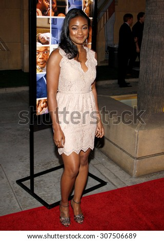 HOLLYWOOD, CA - APRIL 19, 2010: Tatyana Ali at the Los Angeles premiere of 'Mother and Child' held at the Egyptian Theater in Hollywood, USA on April 19, 2010. - stock photo