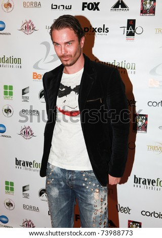HOLLYWOOD, CA - DEC 18:  Anton Kasabov attends the 3nd annual Be Bash holiday party benefiting the Brave Foundation on December 18, 2009 in Hollywood, California